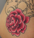 Rose Blossom Tattoo