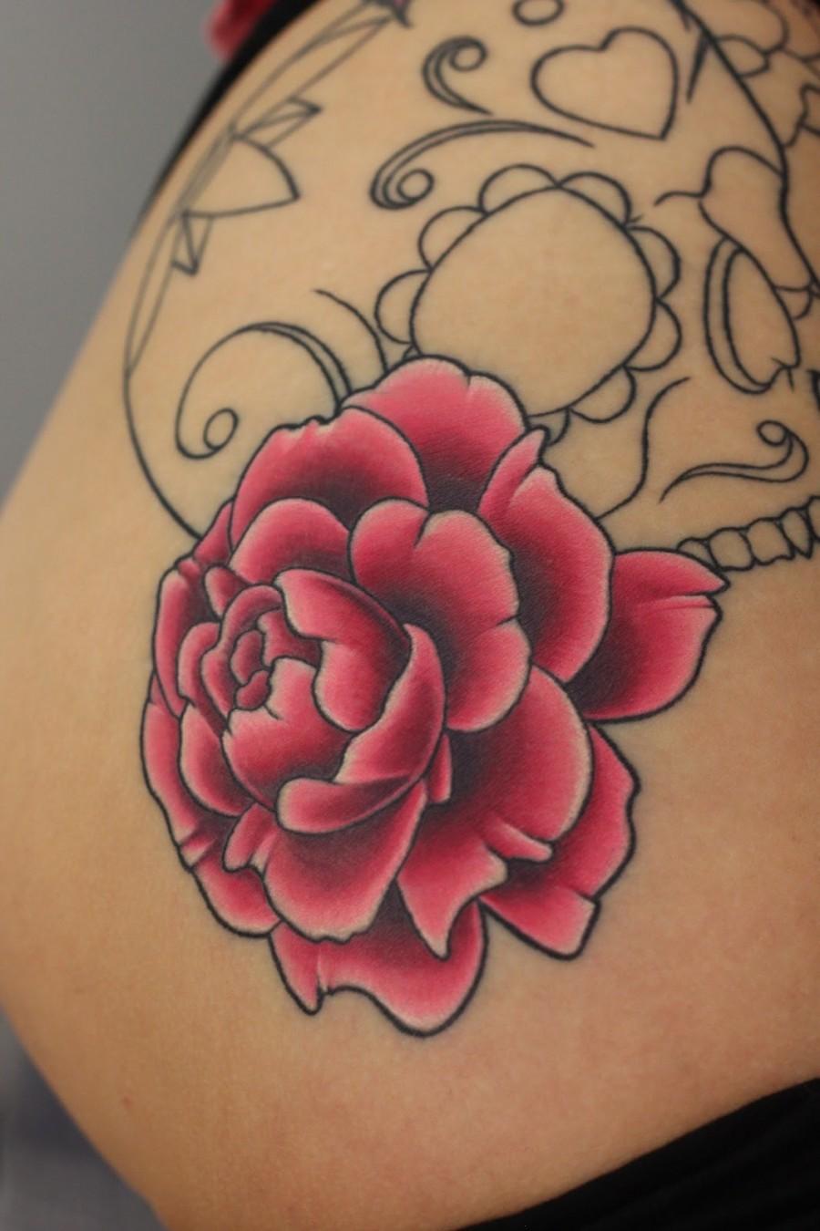 Rose Blossom Tattoo