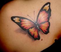 Butterfly Flower Design For Girls
