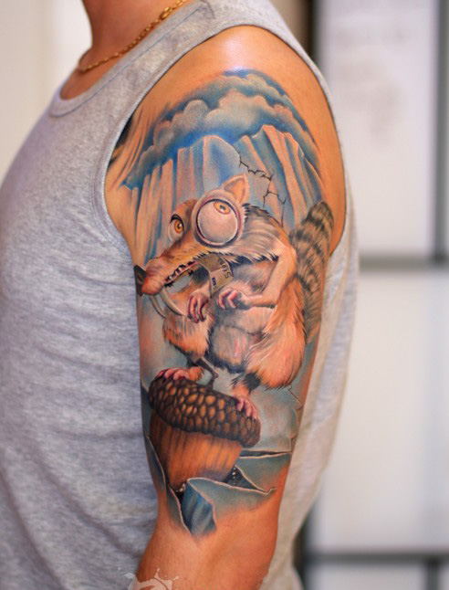 Ice age tattoos