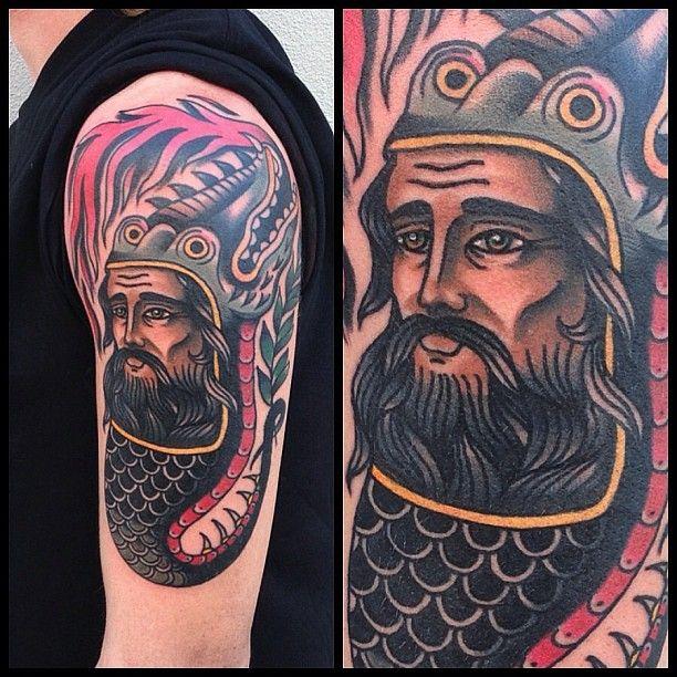 Amazing man tattoo by James McKenna