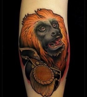 Amazing monkeys relative tattoo