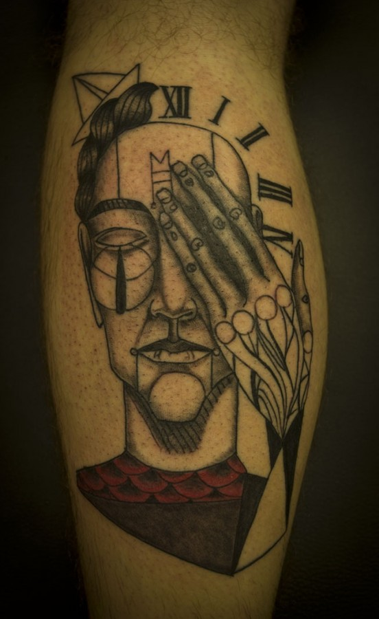 Amazing tattoo by Expanded Eye