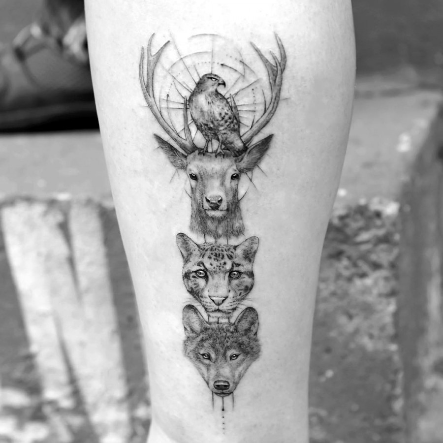 animals tattoo