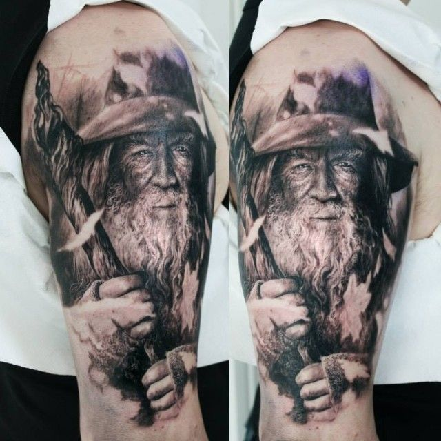 """Lord of the rings"" tattoos"