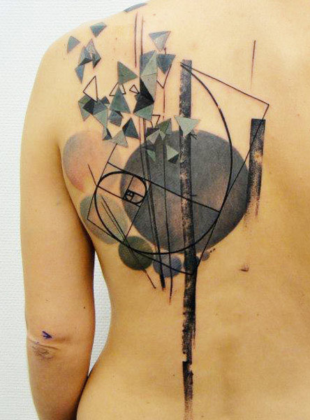 Awesome back tattoo by xoil