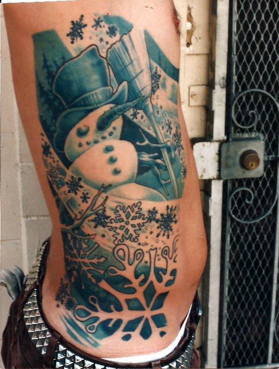Snowman tattoos