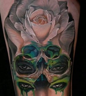 Awesome tattoo by Phil Garcia