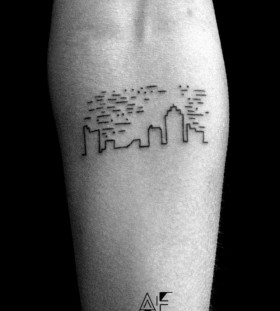 Axel Ejsmont architecture tattoo