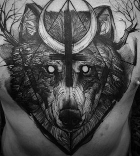 bad-ass-bear-chest-tattoo-by-fredao-oliveira