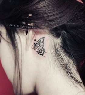 behind-the-ear-butterfly-tattoo-by-enta_tattoo