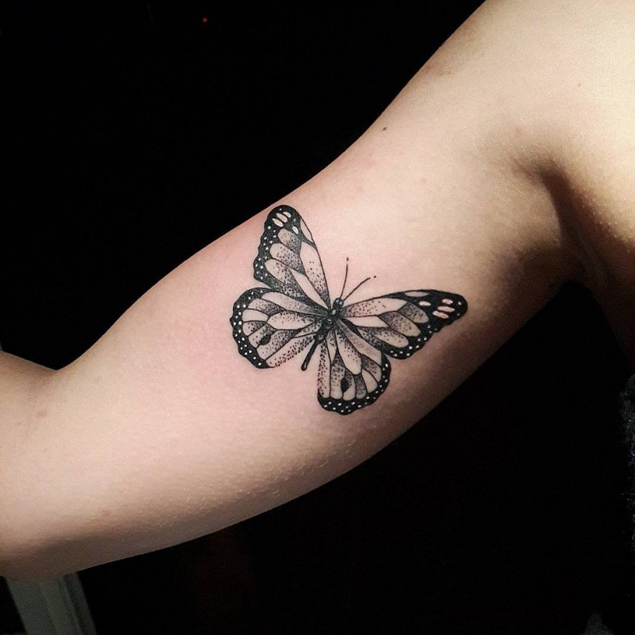 black-and-grey-butterfly-tattoo-by-diogorochatattooer
