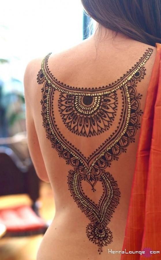 Black pretty bride tattoo