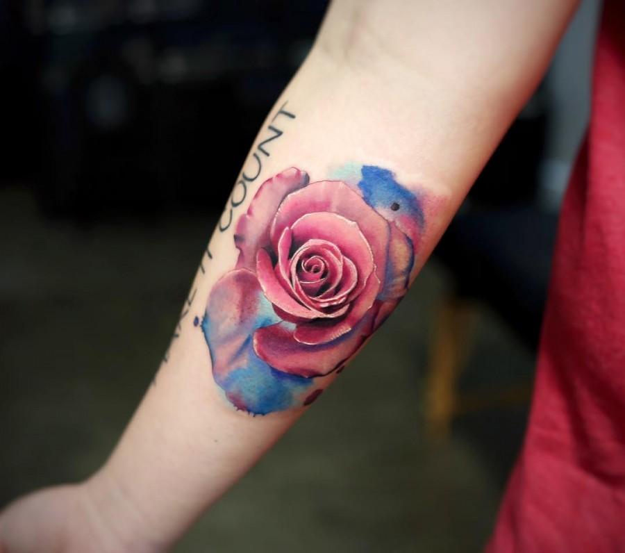 bluey-pink-rose-tattoo-by-joice-wang