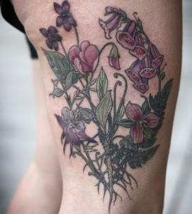 Bramble tattoo by Alice Kendall