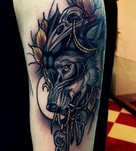 brando-chiesa-wolf-tattoo