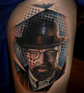 Breaking bad tattoo by Benjamin Laukis