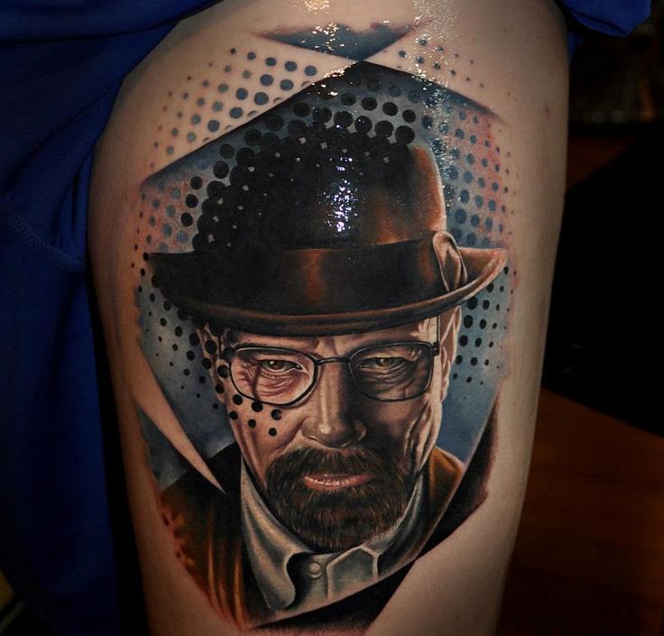 Breaking bad tattoo by Benjamin Laukis
