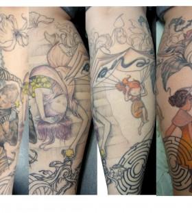 Brilliant arm tattoo design