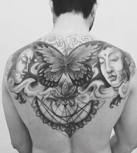 butterfly-back-tattoo-by-kadutattoo