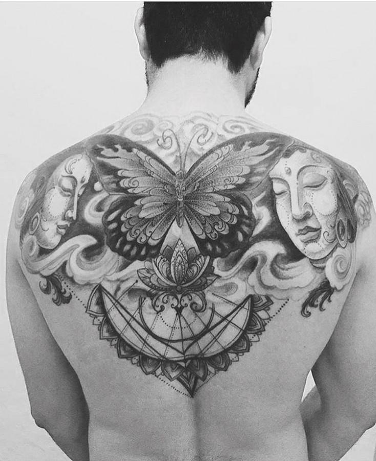 butterfly-back-tattoo-by-kadutattoo