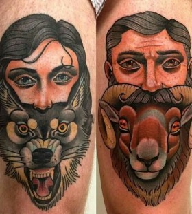 Cool animal tattoos by Alex Dorfler