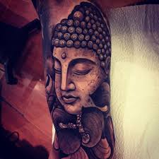 Cool buddha arm tattoo