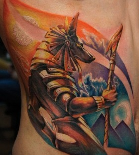 Cool egyptian god tattoo