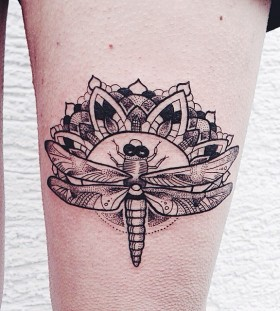 Cool insect leg tattoo