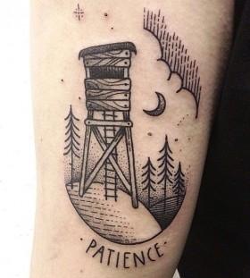 K And M Tattoo Bed air balloon tattoo by Susanne König   Tattoomagz.com › Tattoo ...