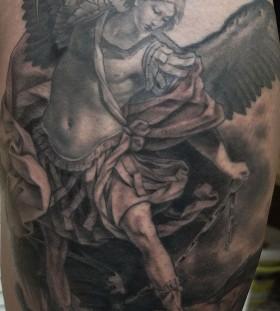 Cool tattoo by Xavier Garcia Boix