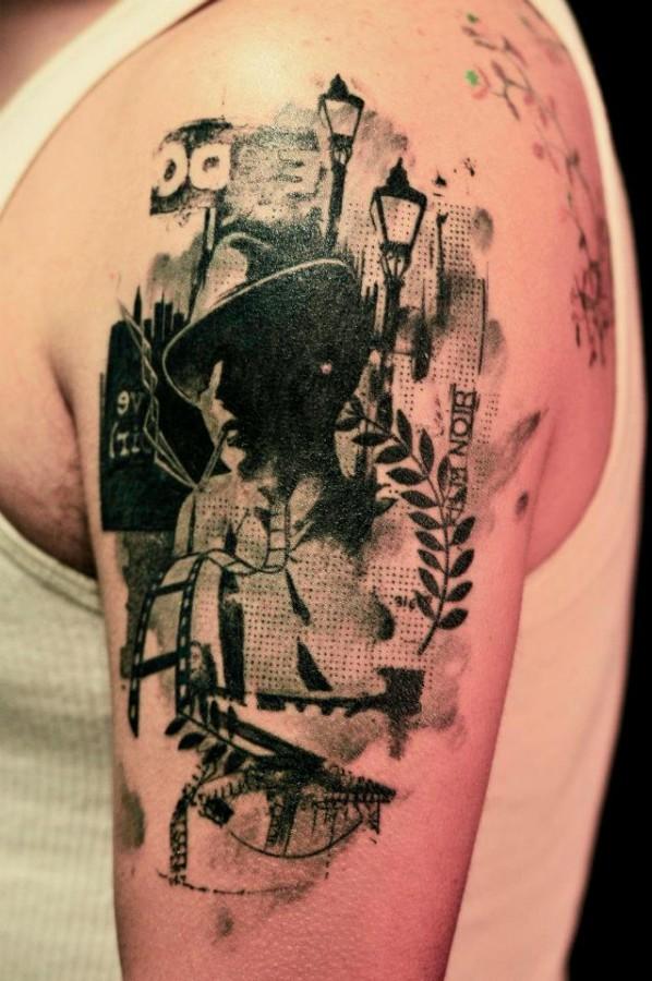 Cool xoil arm tattoo
