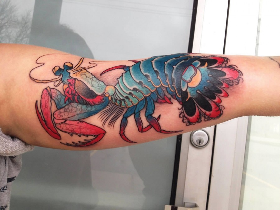 988c73f5c Creative lobster arm tattoo - | TattooMagz › Tattoo Designs / Ink ...