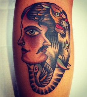 Creative tattoo by Charley Gerardin