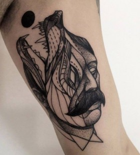 Creative tattoo by Michele Zingales
