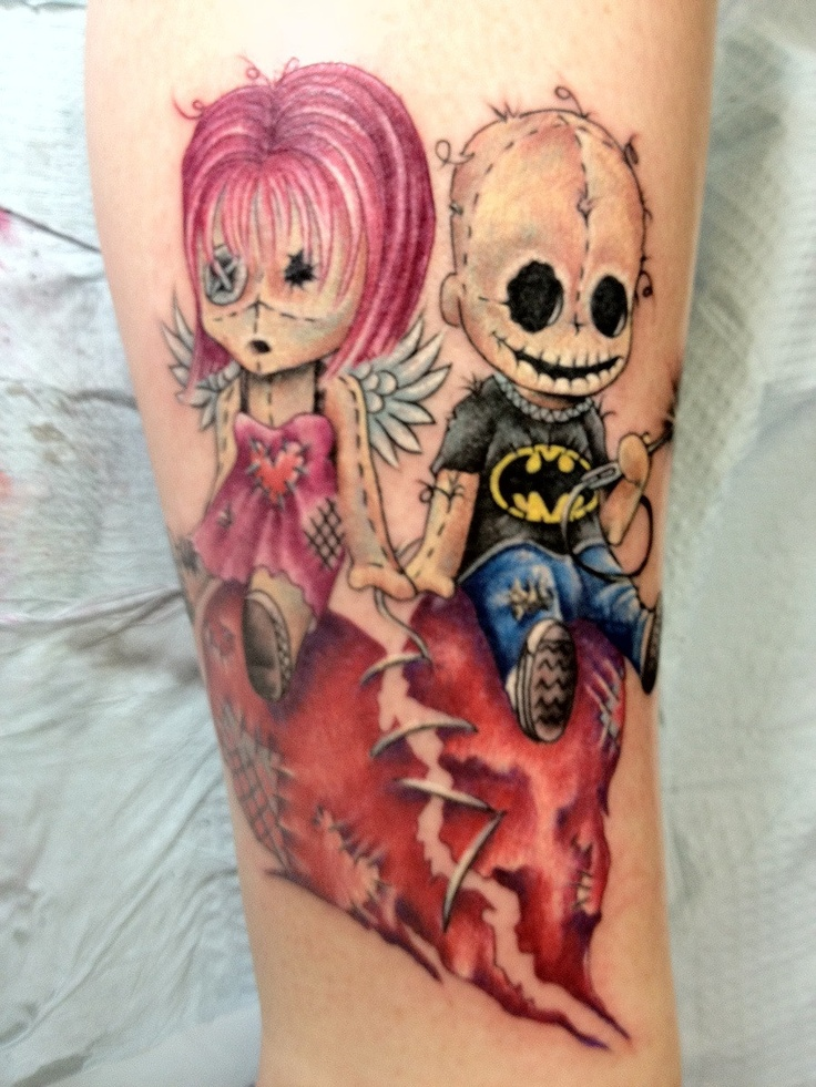 Awesome doll tattoos
