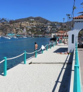 Crescent Beach in Catalina Island