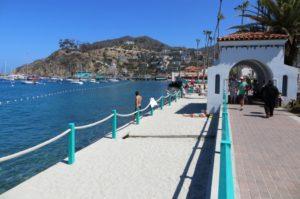 Crescent Beach in Catalina Island