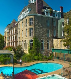 Crescent Hotel in Eureka Springs, Alaska