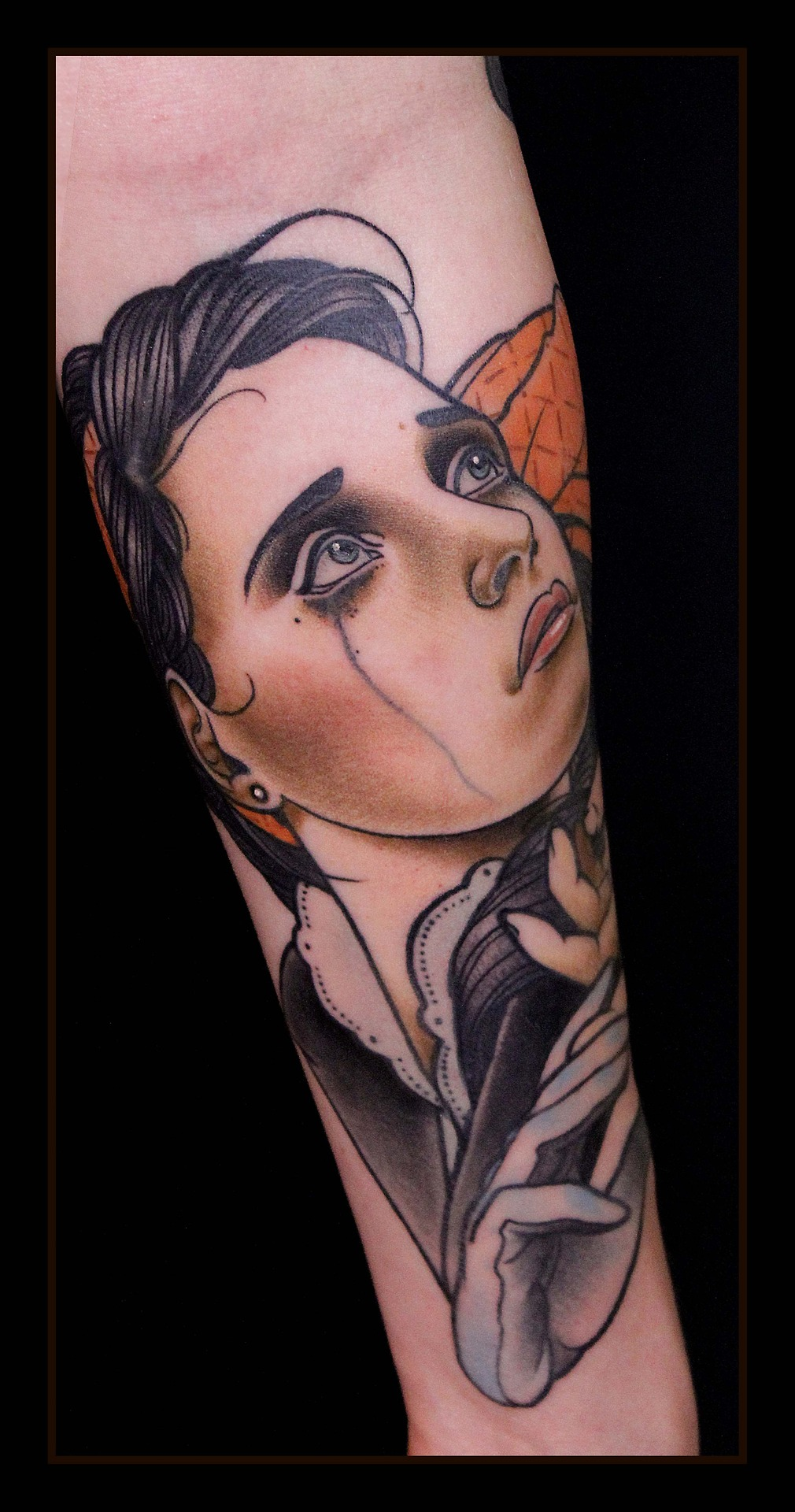 Crying Woman Tattoo Tattoomagz Tattoo Designs Ink