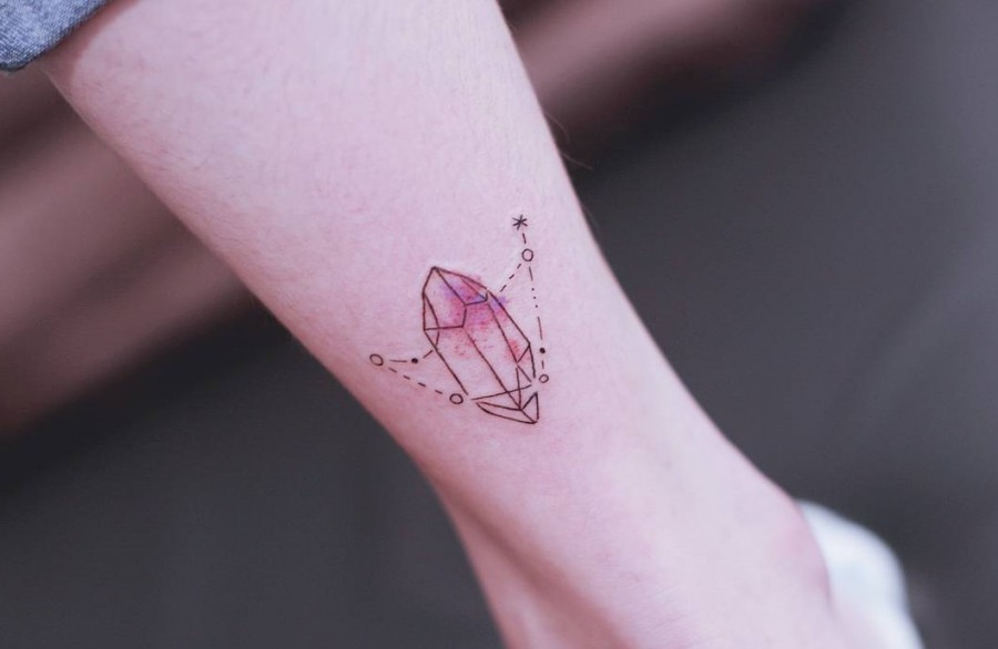 constellation tattoo by seoeontattoo