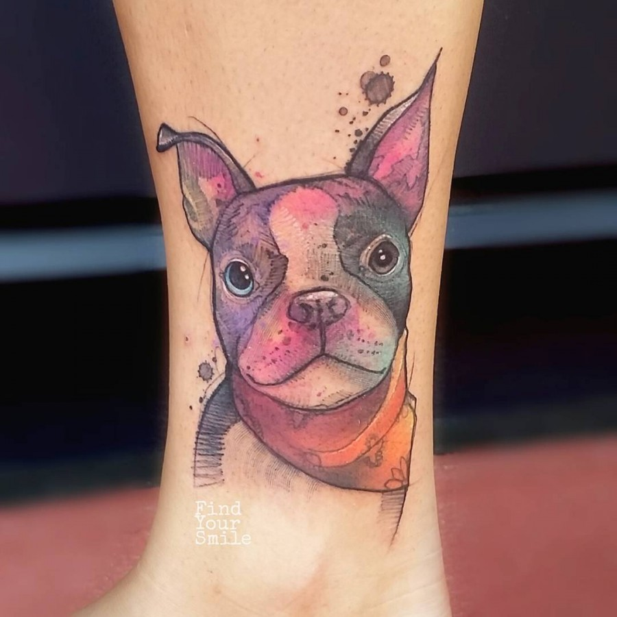 dog-portrait-watercolor-tattoo