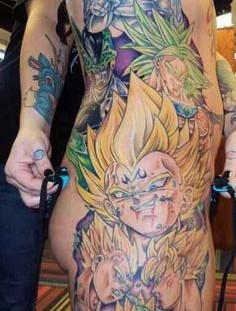 Dragon ball warriors tattoo