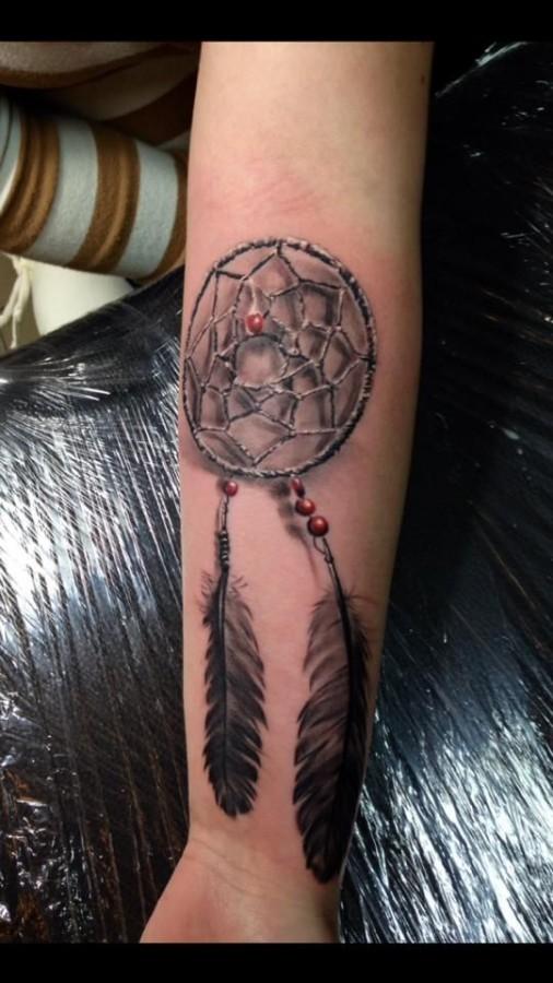 Dreamcather tattoo by Razvan Popescu