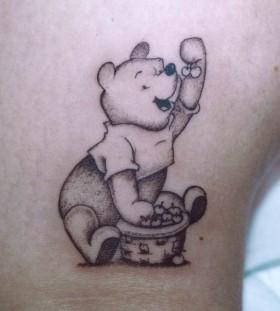 Eating winnie the pooh tattoo