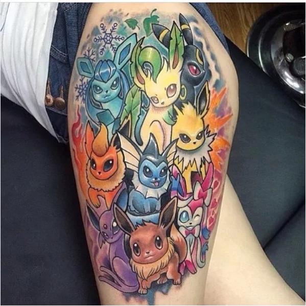 eeve-evolution-pokemon-tattoo