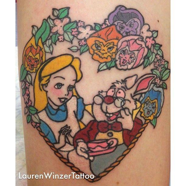 Fairytale hero tattoo by lauren winzer