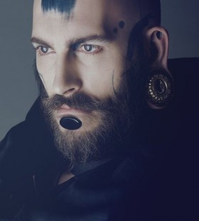 Fashion Face tattoo