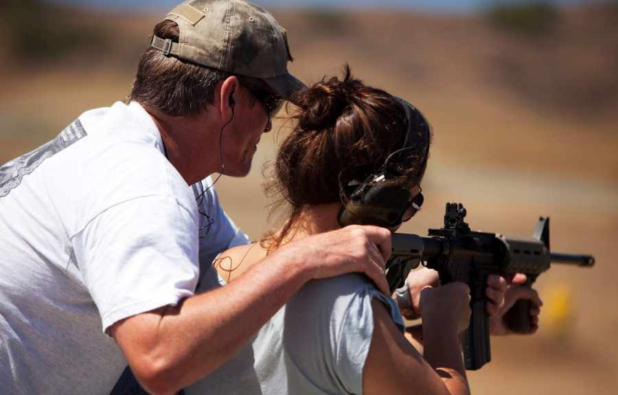 Firearms Instructor for Girls and Women