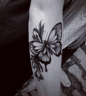 floral-butterfly-tattoo-by-fetattooer